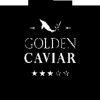 Grafik: Wasserzeichen / Logo von GOLDEN CAVIAR, SAM TABATABAI | KAVIAR & SAFRAN