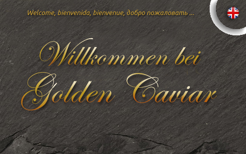 Grafik: Willkommen bei GOLDEN CAVIAR, SAM TABATABAI | KAVIAR & SAFRAN AUS HAMBURG