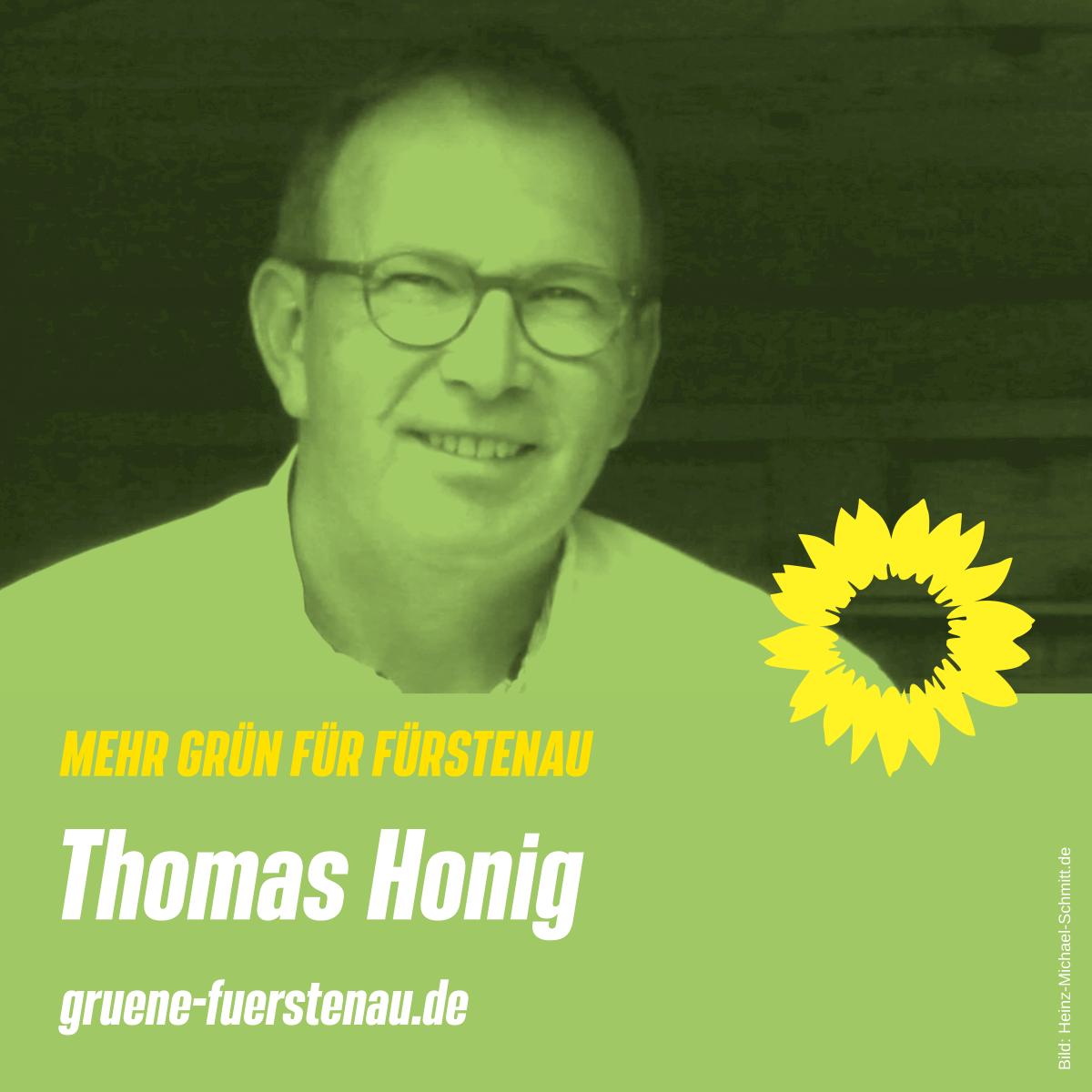 Thomas Honig, Kandidat Bündnis 90/ DIE GRÜNEN