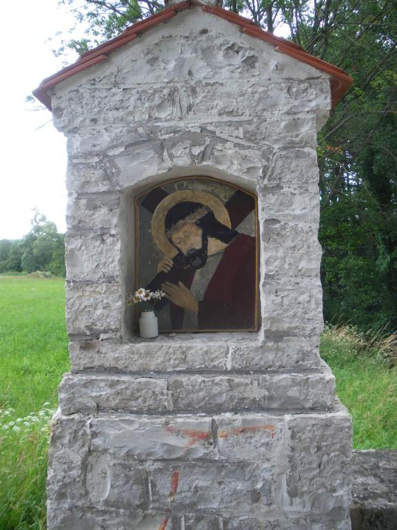 Restaurierung des Votivbildes der Steinsäule an der Sulz beim Altenheim (2009)