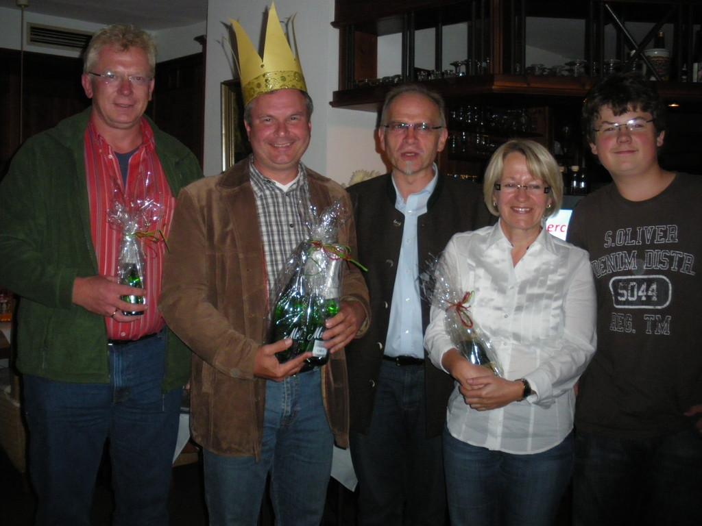 """Sommernachtsfest 2010: Josef Kaiser wurde Sieger im Städtequiz """"Bacham Kini""""."""