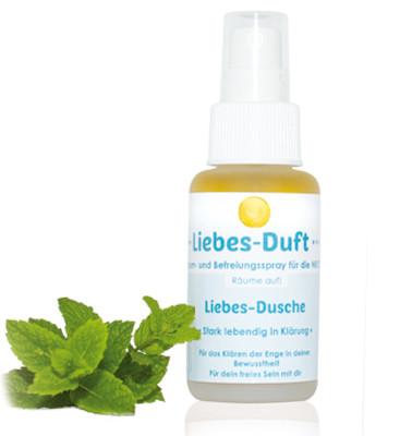 Pfefferminze, Lorbeer, Ingwer, Iris. Mit 100% ätherischen Ölen aus Kräutern. Liebe volle Energetische Wirkung in deiner Aura. Auraspray