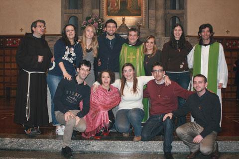 27 Gennaio 2014: Promessa della fraternità di Monza