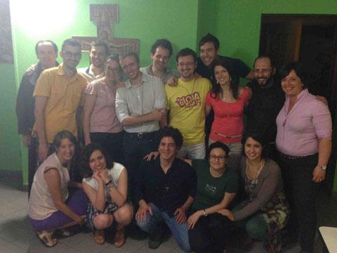 08 Giugno 2014: Promessa Fraternità Gi.Fra. S. Antonio - Milano
