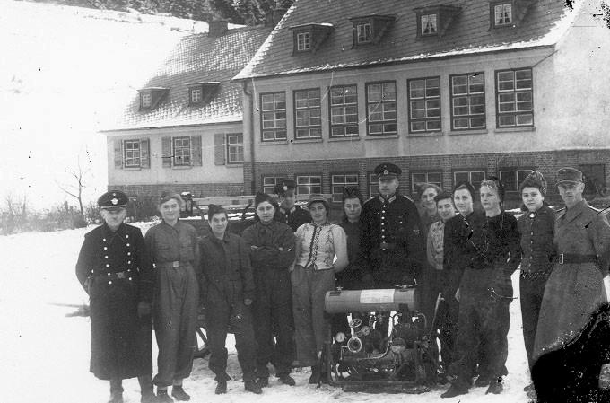 Maschinistenlehrgang der Feuerwehr m. Paul Büttner