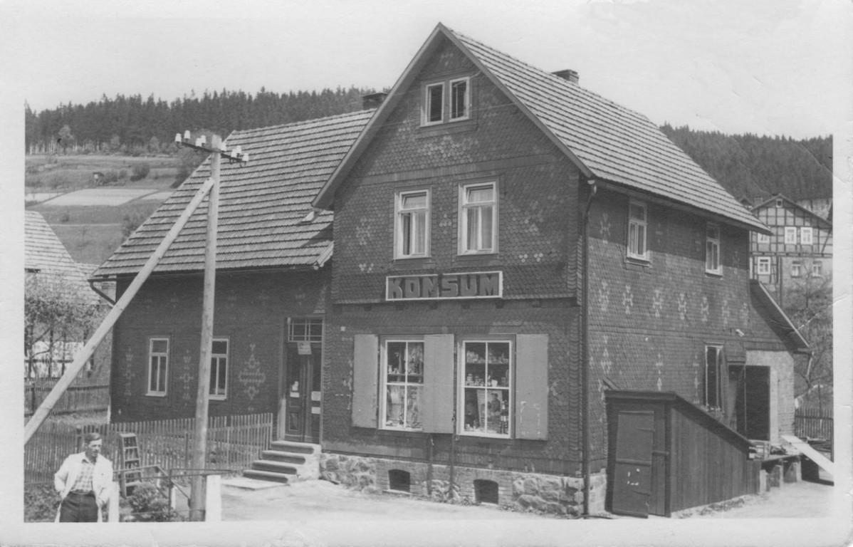 Konsum um 1958