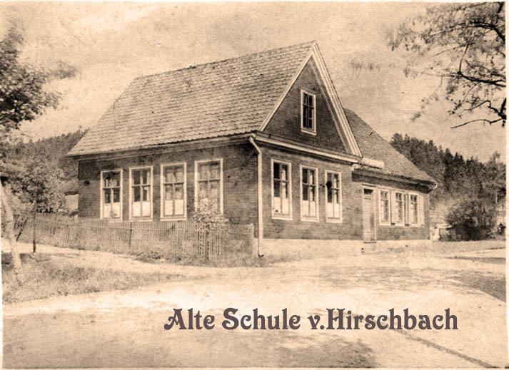 Alte Schule in Hirschbach