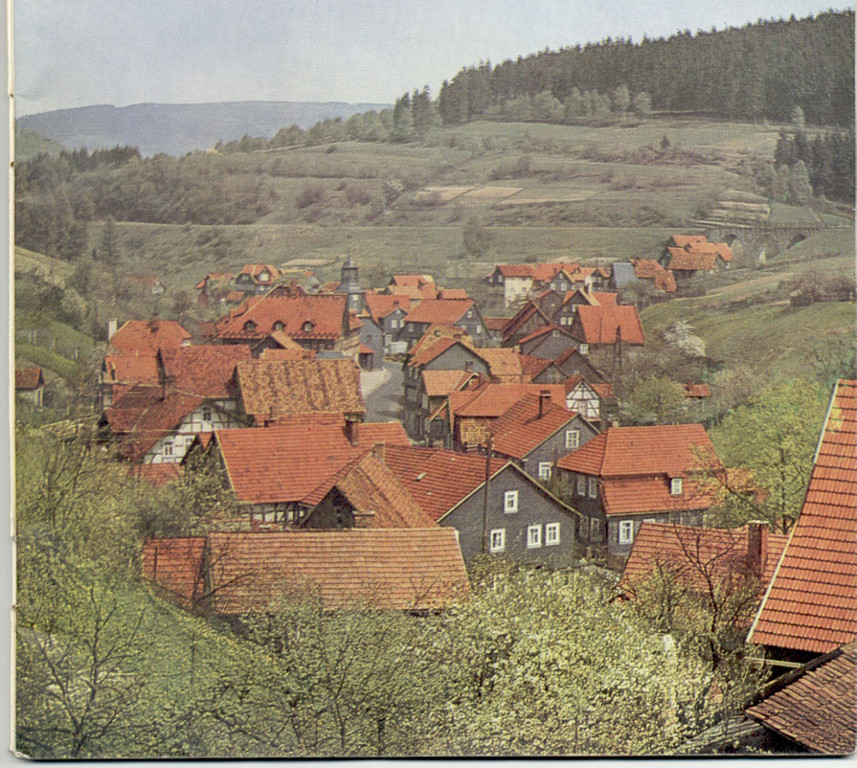 über den Dächern Hirschbach