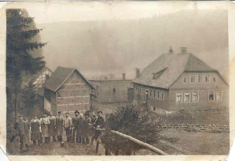 Arbeiter d. Firma Albrecht