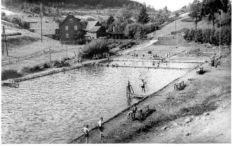 das Hirschbacher Schwimbad (1952-1968 )
