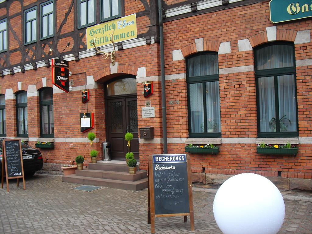 Eingang zum Hotel