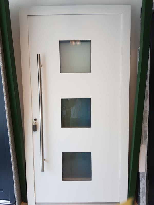Holzhaustür Hessendorf neuer Preis: 2400€ statt 3000€