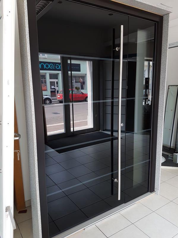 Alu-Haustür Absdorf neuer Preis 5800€ statt 9500€