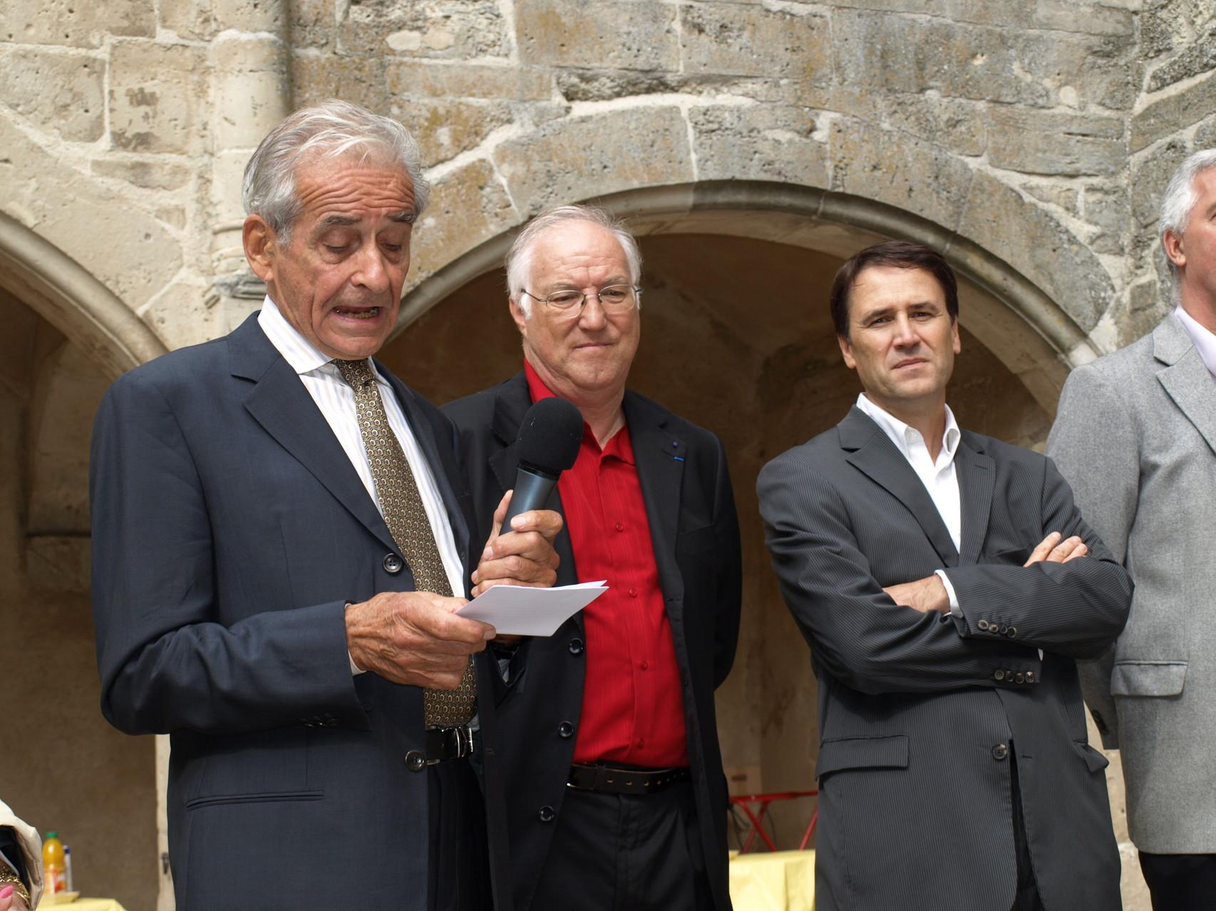 avec Jean Nicolas Plume d'or 2011 (sept 2010)