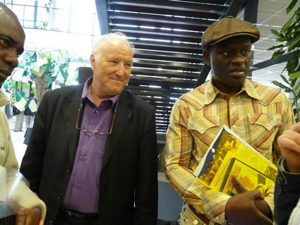 Francophonie mai 2011 (avec Alain Mabankou)