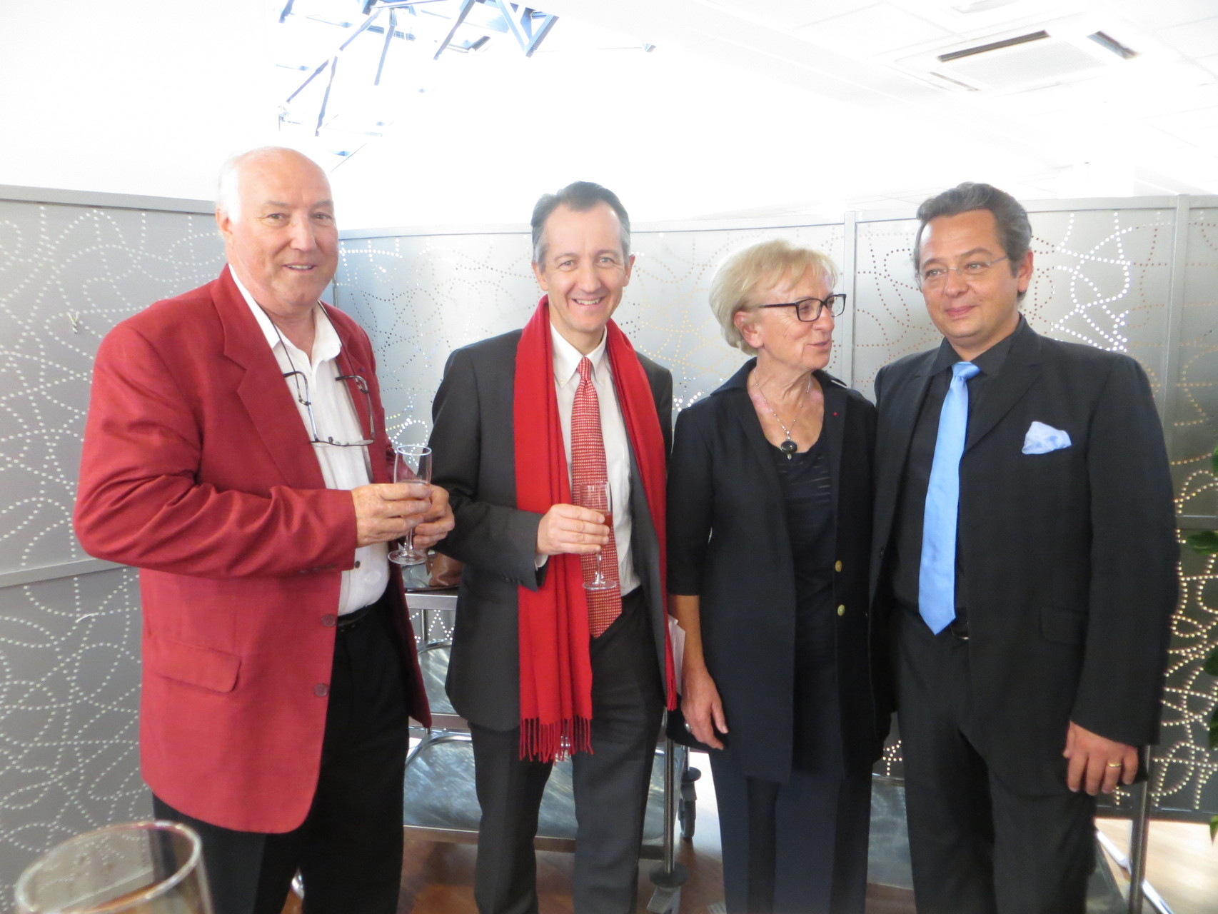 avec Christophe Barbier, Françoise Camusso et Pascal Gallet