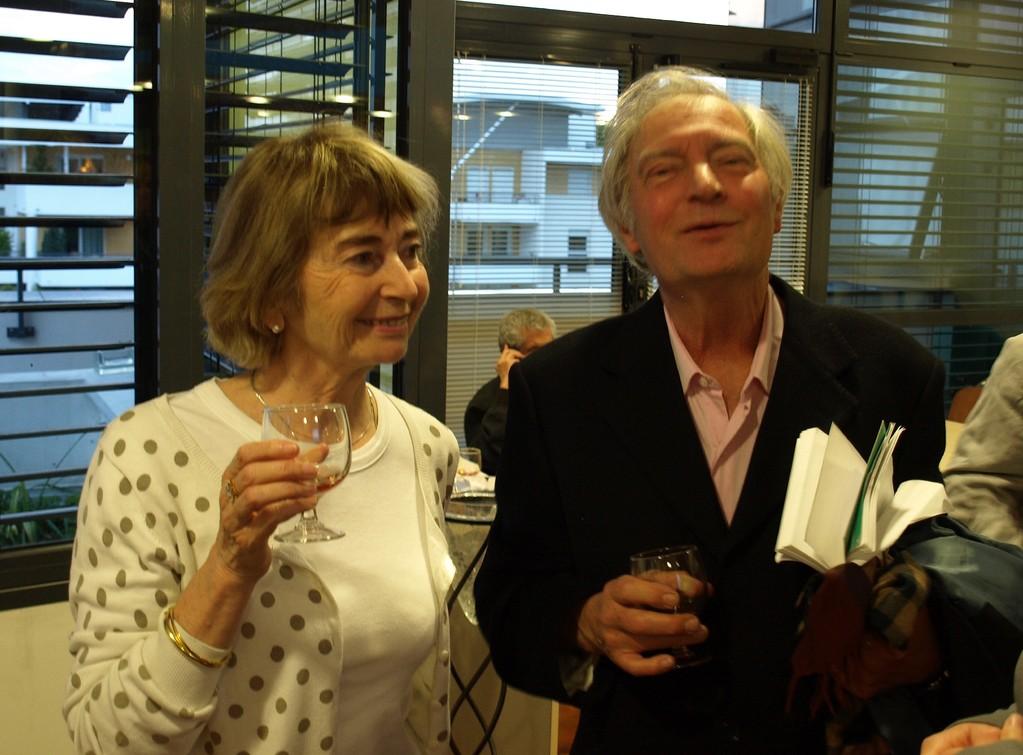 Pierre UYTTERHOEVEN et son épouse