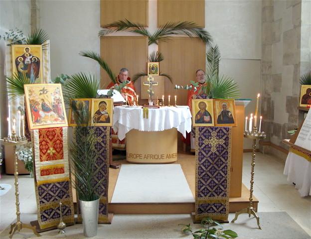 Entrée à Jérusalem ou fête des rameaux