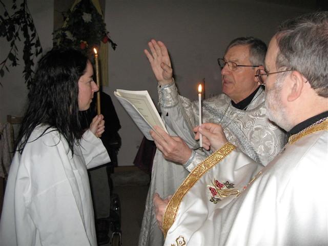 Baptême d'adulte