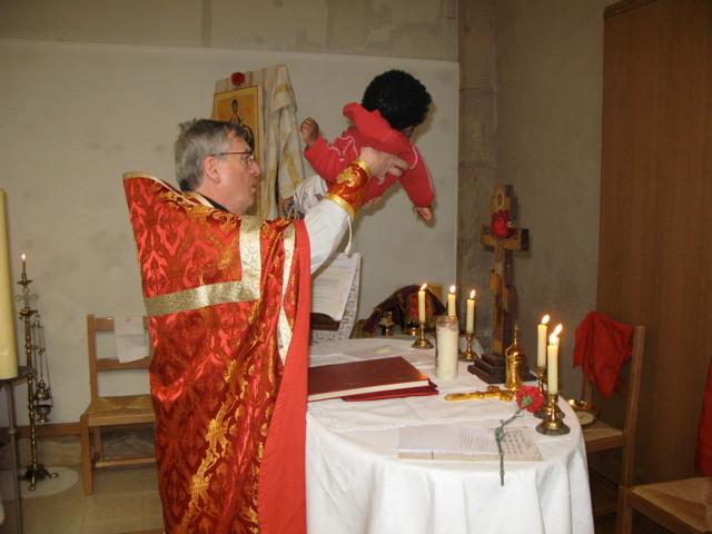 Présentation d'un enfant à l'autel