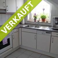 Küche einer verkauften Wohnung