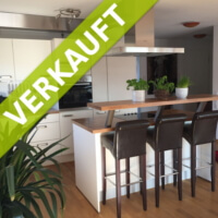 Küche einer verkauften 3,5-Zimmer-Wohnung
