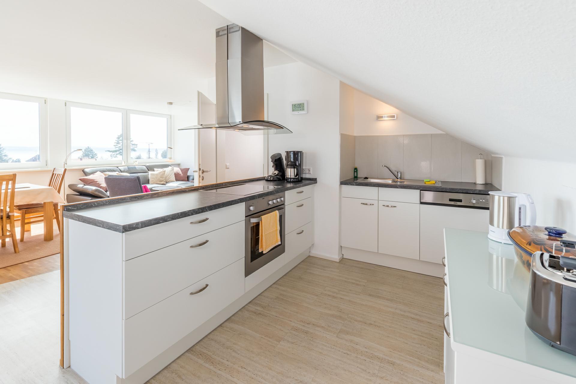 Wohnküche komplett ausgestattet