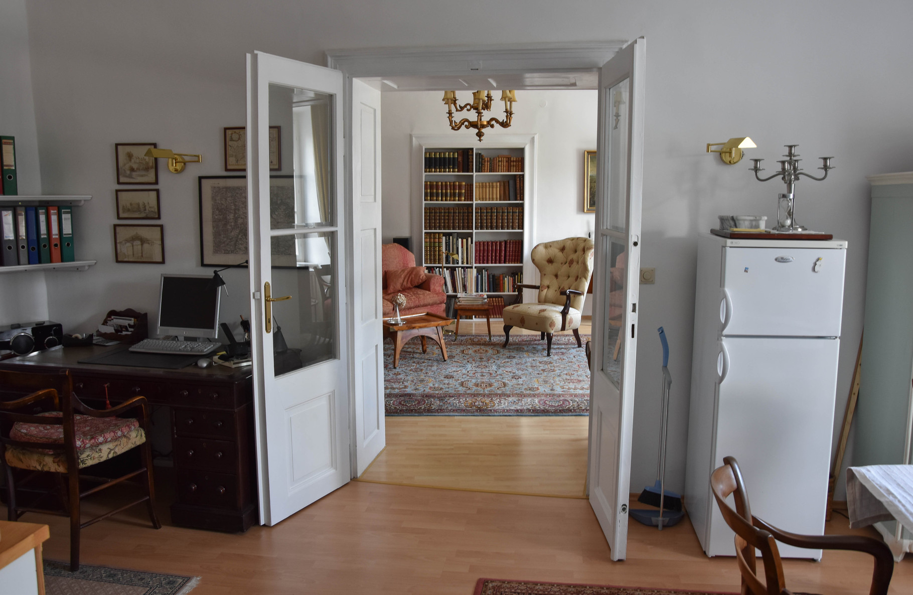 Esszimmer Richtung Wohnzimmer - Foto Gerhard Ambroz 2015