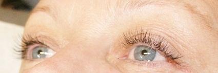 Som hans ögonfransar
