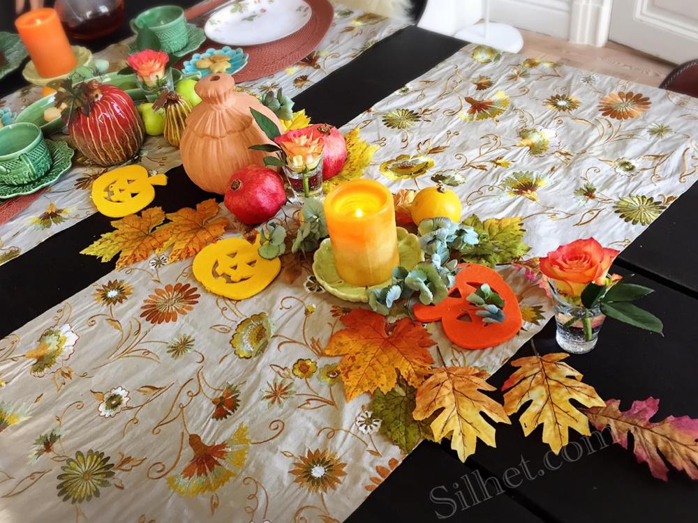 素敵なハロウィンのテーブルコーディネート