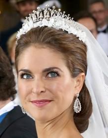 スウェーデン王女マデリーン