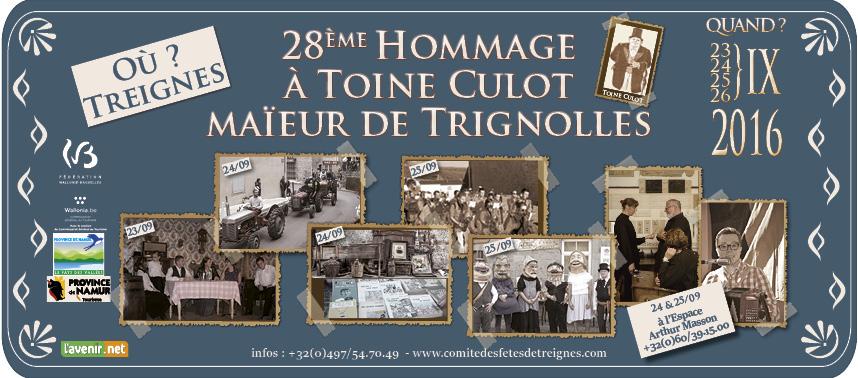 2016 : 28ème hommage à Toine Culot
