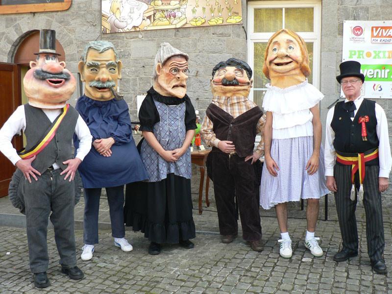 """Les """" Grosses têtes """" de la Toinade"""