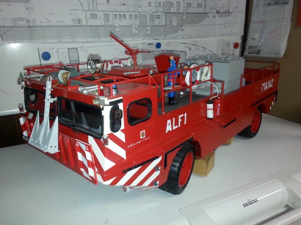Custom brandweerwagen