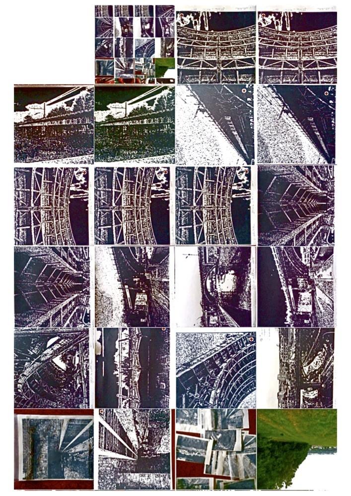 Übergabe von 15 Lithografien/Drucken an das Michael Morgner Archiv zwecks Unterstützung und Ausstellung zur Erhaltung des Viadukts Chemnitz