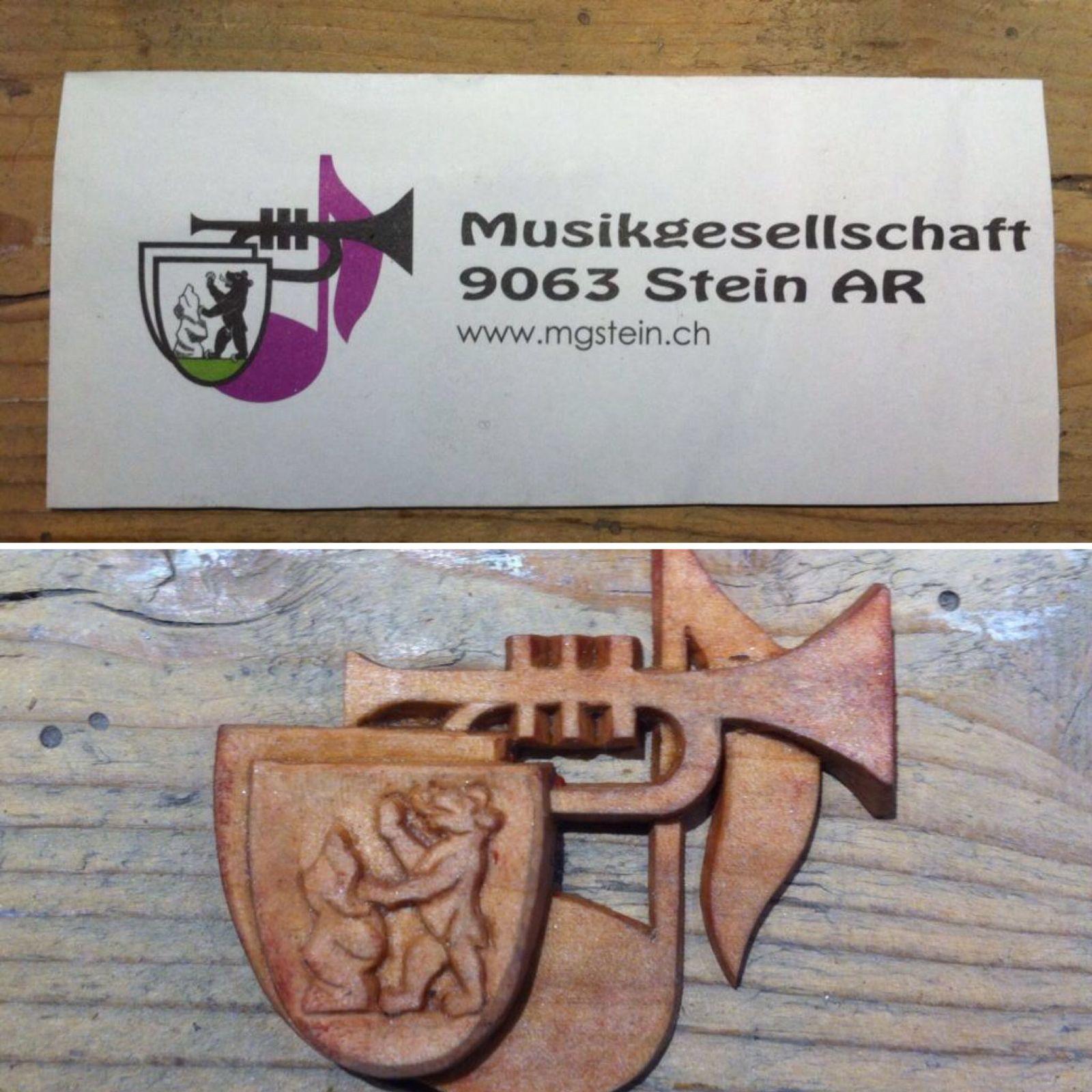 Vom Logo zum Guss