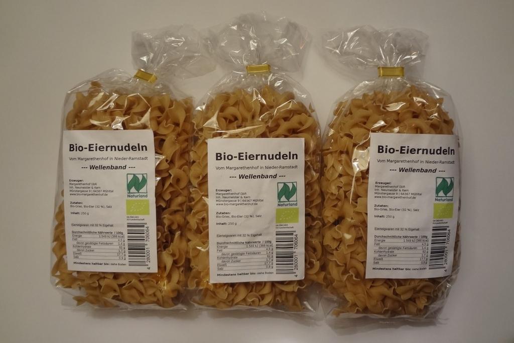 Selbstklebende Nudel-Etiketten (mit EAN-Code für Verkauf im Einzelhandel)