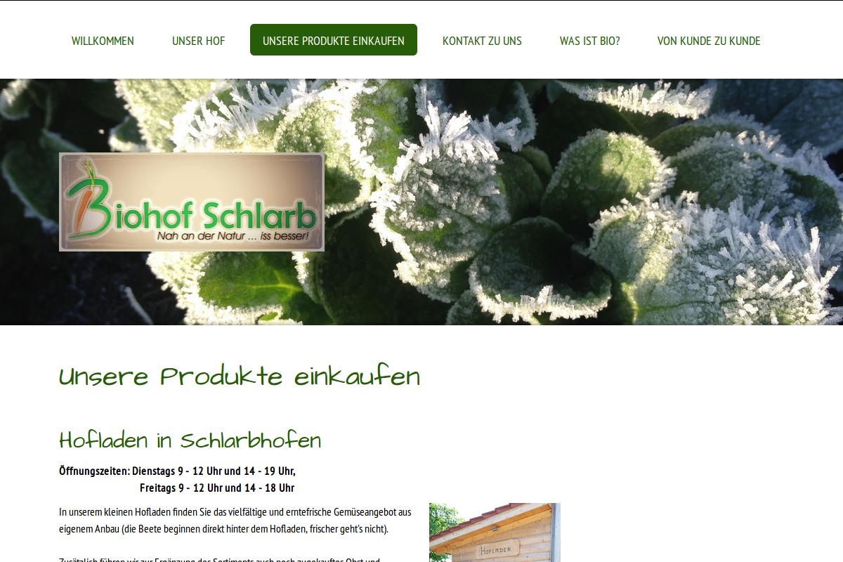 www.biohofschlarb.de