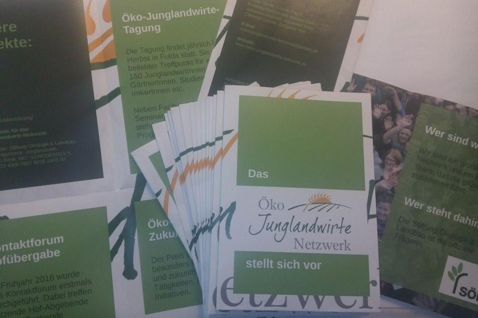 Flyer und Faltblätter in verschiedenen Varianten (hier Zweibruch-Kreuzfalz)
