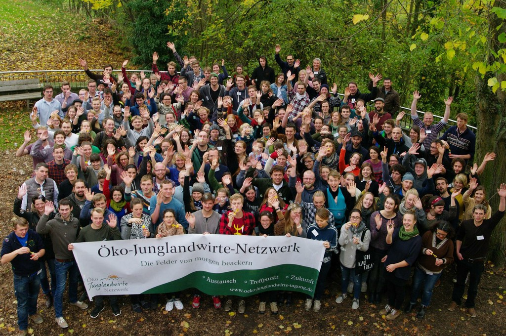 """Projektleitung """"Öko-Junglandwirte-Netzwerk"""" (seit  2015)"""