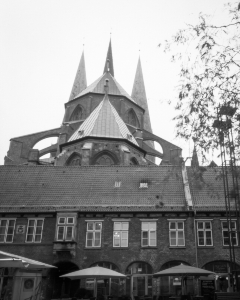 Lübeck - St. Mary's Church | Harman TiTAN Pinhole Camera F206