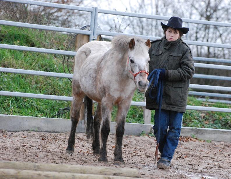 Joni mit Ramon 2009