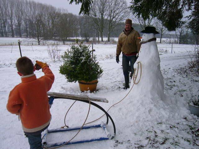 Vorbereitung für die Weihnachtskarte