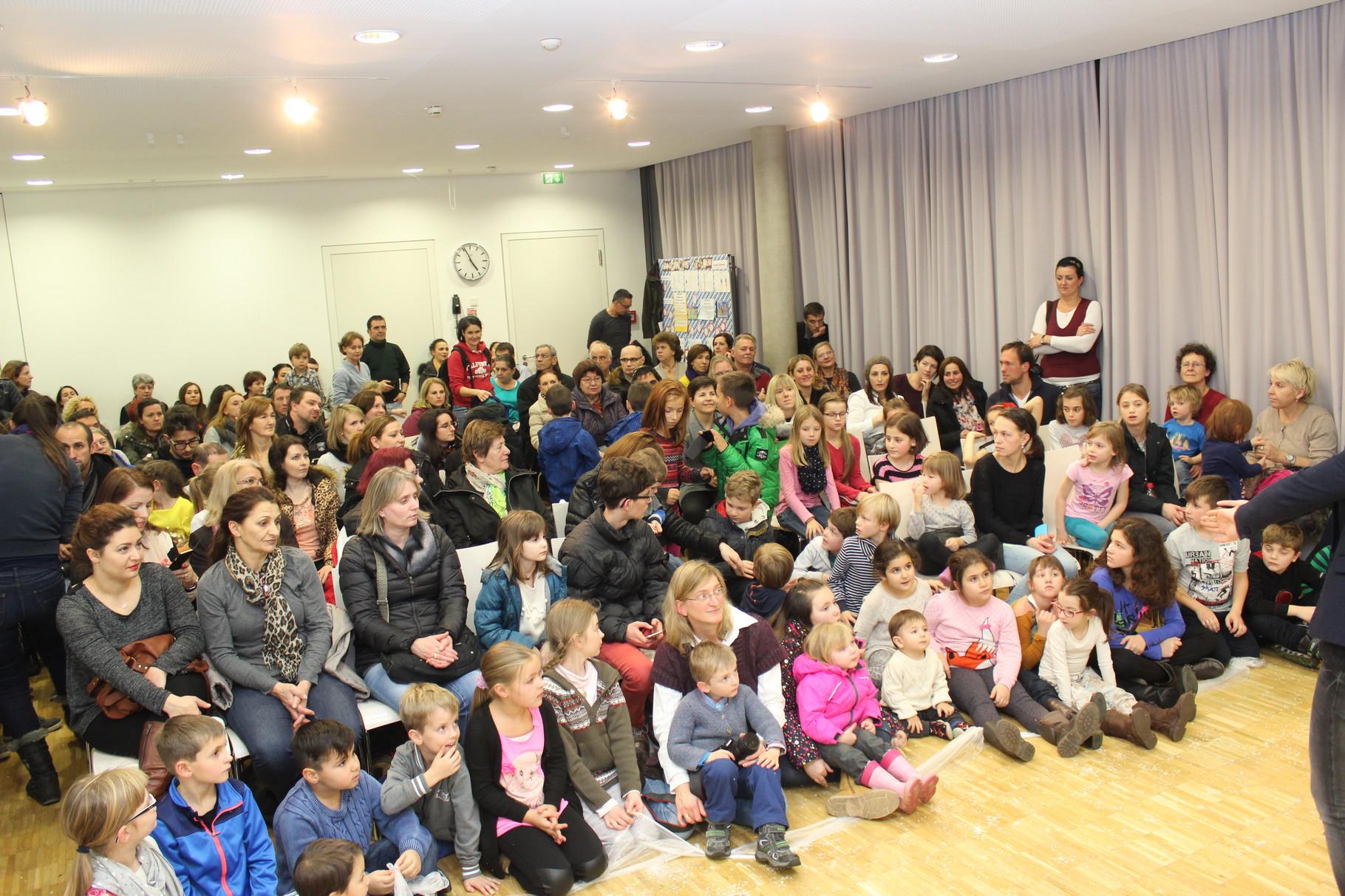 Publikum in der Prinzregentenschule
