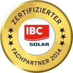 Solarstromspeicher zertifizierter Fachpartner von IBC SOLAR