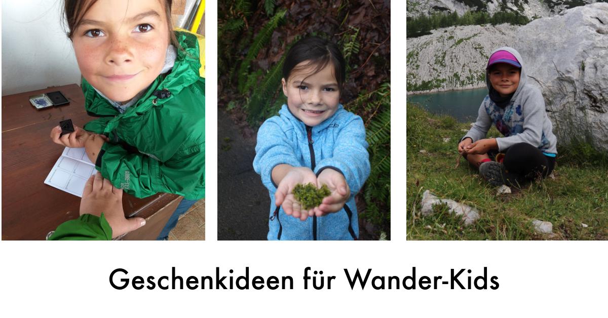 Geschenkideen für Wander-Kids