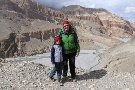 Auf dem Weg nach Chugsang - ein vielversprechender Anfang unseres Abenteuers Upper Mustang!