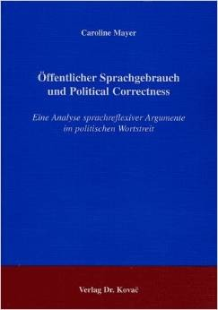 Caroline Mayer Dissertation Political Correctness