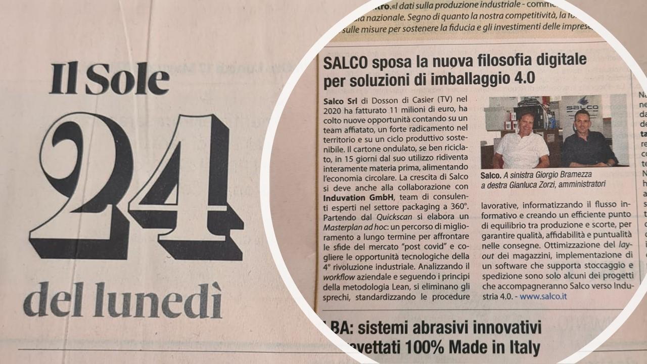 Lean Transformation 4.0 in Salco Srl
