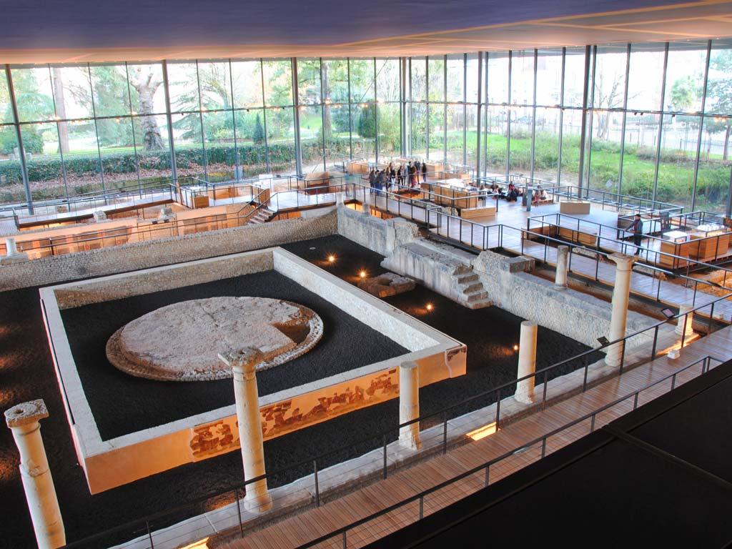 A Périgueux, le musée Vésunna - Crédit : Musée Vesunna